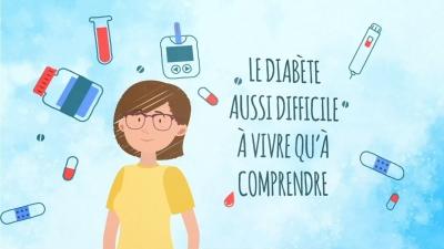 Animation 2D Fédération Française des Diabétiques - Alteriade